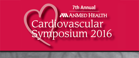 AnMed Health Cardiovascular Symposium 2016