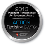 ACTION Registry-GWTG Platinum Performance Achievement Award