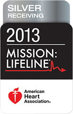 American Heart Association Mission: Lifeline Silver Award