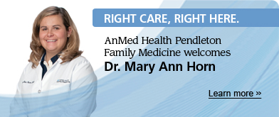 AnMed | RCRH Welcome Dr Mary Ann Horn