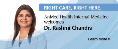AnMed | RCRH Welcome Dr Chandra 141231