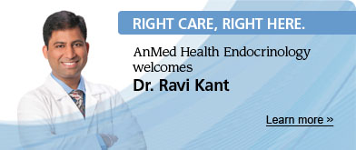 AnMed | RCRH Welcome Dr Kant