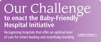 AnMed | Baby-Friendly Hospital Challenge131108
