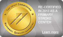 AnMed Health was re-certified as a Primary Stroke Center by the Joint Commission in 2013